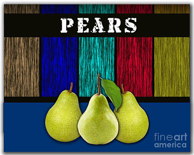 Pear Mixed Media - Pears by Marvin Blaine