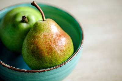 Photograph - Pears by Nailia Schwarz