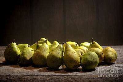 Produce Stands Photograph - Pears by Olivier Le Queinec