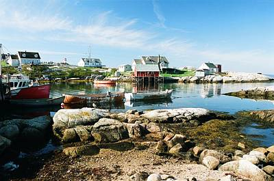 Photograph - Peggy's Cove by Frank Townsley