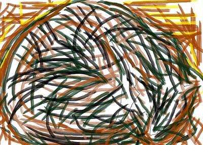 Painting - Pegs 13 by Anita Dale Livaditis