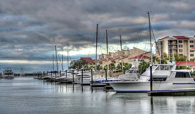 Photograph - Pensacola Harbor by David Troxel
