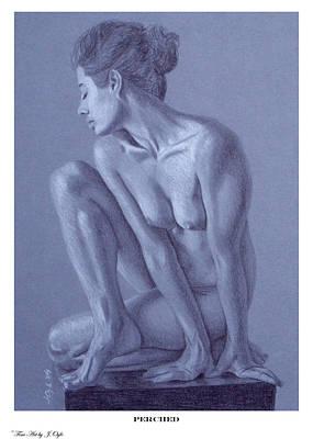 Joe Ogle Painting - Perched  by Joseph Ogle