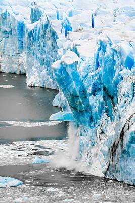 Caravaggio - Perito Moreno glacier in Patagonia  by Mariusz Prusaczyk