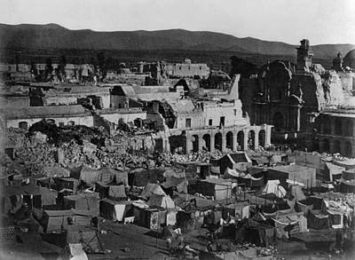 Photograph - Peru Earthquake, 1868 by Granger