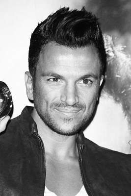 Photograph - Peter Andre 1 by Jez C Self
