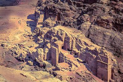 Petra Photograph - Petra by Alexey Stiop