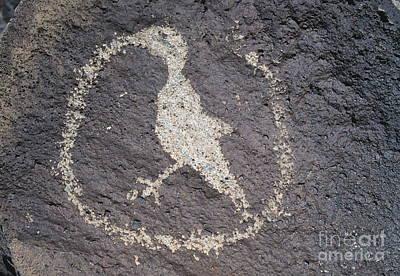 Petroglyph Art Print