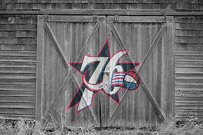 Philadelphia 76ers Art Print by Joe Hamilton