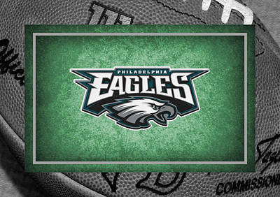 Philadelphia Eagles Print by Joe Hamilton