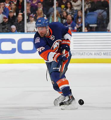 Photograph - Philadelphia Flyers V New York Islanders by Bruce Bennett