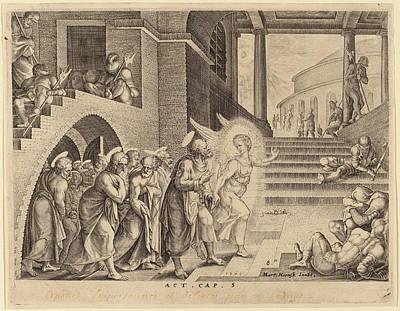 Philip Galle After Maerten Van Heemskerck Flemish Art Print by Quint Lox