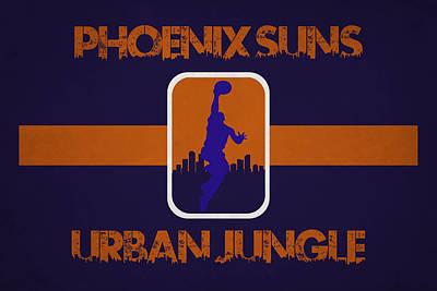 Phoenix Suns Art Print by Joe Hamilton
