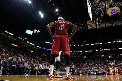Photograph - Phoenix Suns V Miami Heat by Mike Ehrmann
