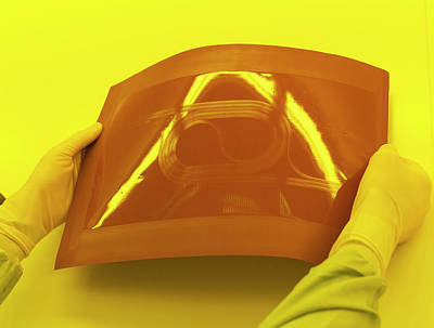 Nanotechnology Photograph - Photonics Polymer by Ibm Research