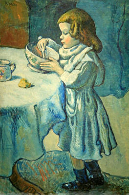 Picasso's Le Gourmet Art Print