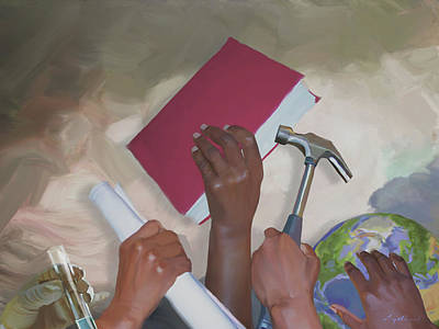 Painting - Pick Up Your... by Carey Muhammad