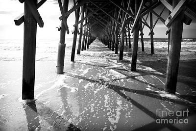 Photograph - Pier Lines by John Rizzuto