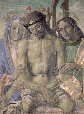 Italian School Painting - Pieta  by Italian School