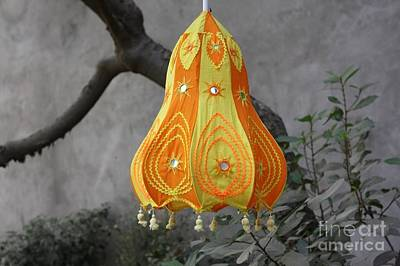 Pipli Lanterns Art Print by 48craft