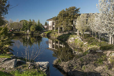 Photograph - Placer County Library by Jim Thompson