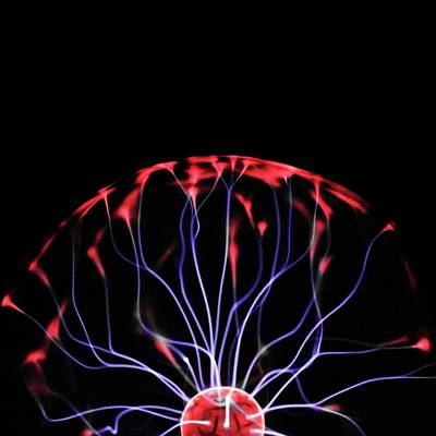 Bright Colours Photograph - Plasma Ball by Science Photo Library