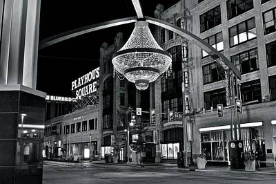 Playhouse Square Art Print by Frozen in Time Fine Art Photography