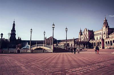 Keith Richards - Plaza de Espana by AM FineArtPrints