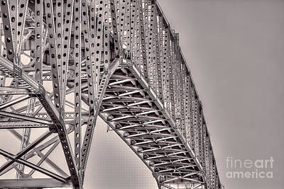 Photograph - Pleasure Island Bridge by D Wallace