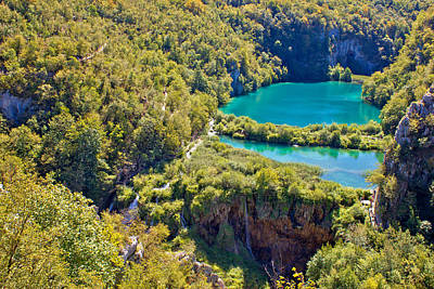 Photograph - Plitvice Lakes National Park Canyon by Brch Photography