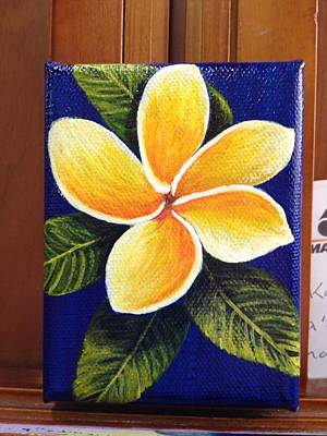 Painting - Plumeria  by Darice Machel McGuire