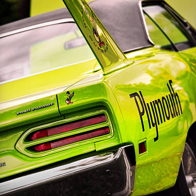 Roadrunner Photograph - Plymouth Superbird by Gordon Dean II