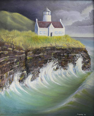 Point Conception Lighthouse Original by Jerry McElroy