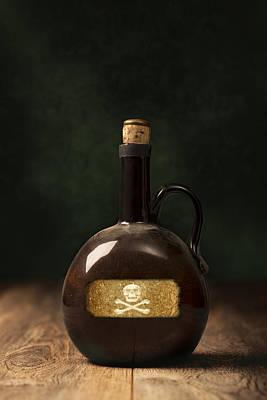 Photograph - Poison Bottle by Amanda Elwell