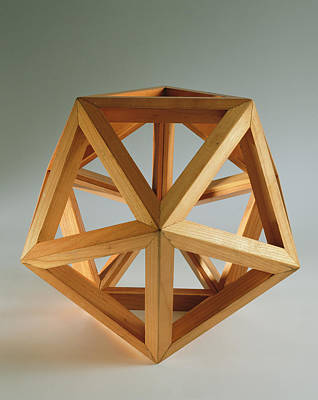Ideal Photograph - Polyhedron Wood by Italian School