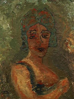 Portraits Painting - Pompeya  by Oscar Penalber