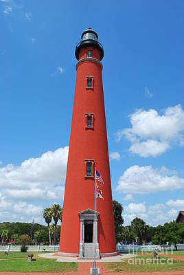 Photograph - Ponce Inlet Lighthouse #2 by Bob Sample