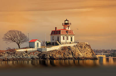 Ponham Rock Light Art Print