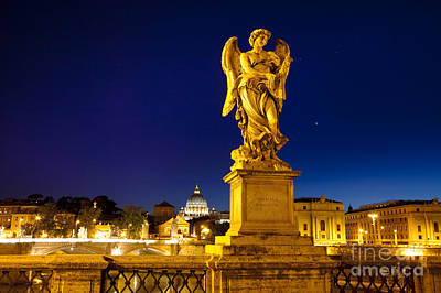 Photograph - Ponte Sant Angelo by Brian Jannsen