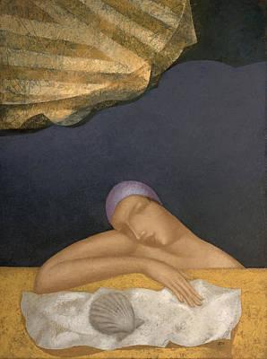 Pool Art Print by Nicolay  Reznichenko