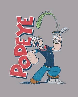 Spinach Digital Art - Popeye - Spinach Power by Brand A