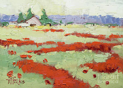 Painting - Poppy Field by Joyce Hicks