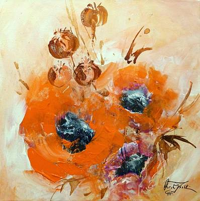 Painting - Poppy Impression by Christa Friedl