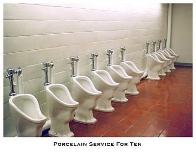 Porcelain Service For Ten Print by Lorenzo Laiken