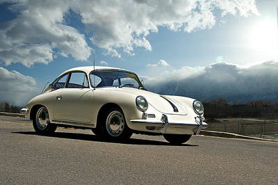 Porsche 356 Coupe Art Print