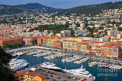Rooftops Photograph - Port Du Nice by Inge Johnsson