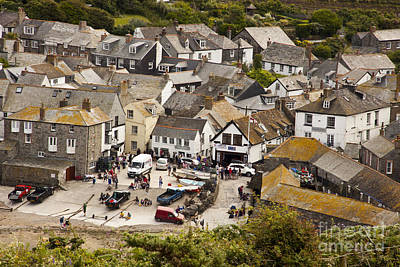 Photograph - Port Issac Cornwall by Anthony Morgan