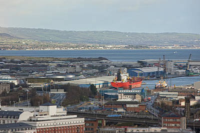 Port Of Belfast, Belfast Art Print