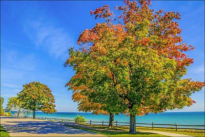 Photograph - Port Sanilac Scenic Turnout by LeeAnn McLaneGoetz McLaneGoetzStudioLLCcom