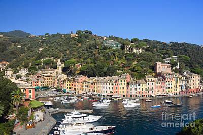 Park Portofino Italy Photograph - Portofino by Antonio Scarpi